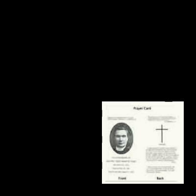 Father Coyle Prayer Card